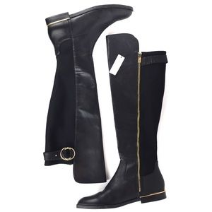 CALVIN KLEIN Priscila Wide Calf Over Knee Boots